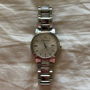 BURBERRY Stainless Steel Water Resistant Watch